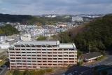 神戸市営住宅ベルデ名谷高層階から。旧デイケアセンターも