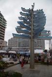 いかなご祭りが行われている垂水東口