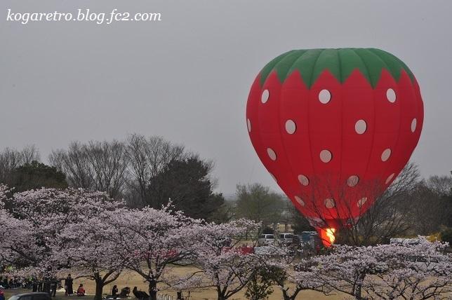 気球と花火