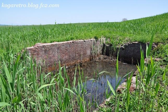 谷中村排水器場跡