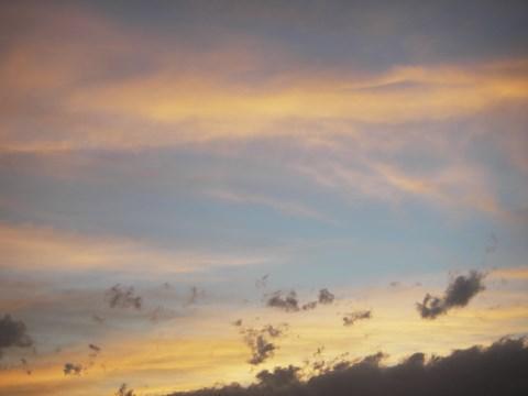4月18日夕雲