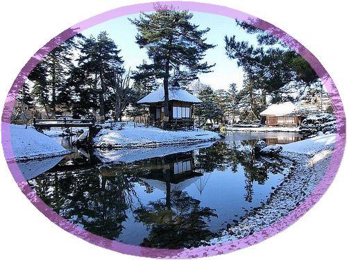 冬の御薬園