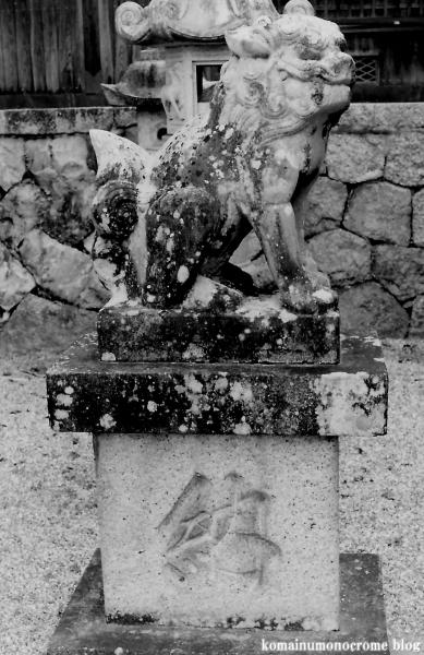 白山神社(白山比咩神社)(桜井市黒崎)3