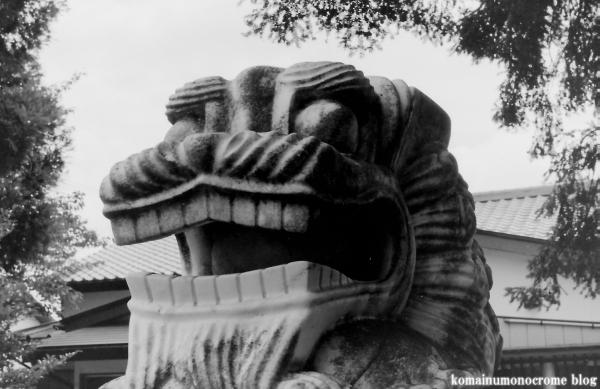 氷川神社(川越市古市場)4