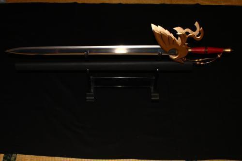 Y様 ドラゴンクエスト 金属刀身仕様はやぶさの剣 完成!第二弾1