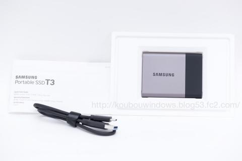 Samsung T3 SSD 3