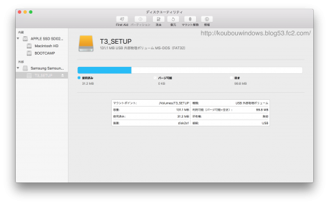 Samsung T3 SSD 10