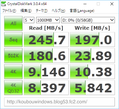Sandisk Extreme 64 USB 4