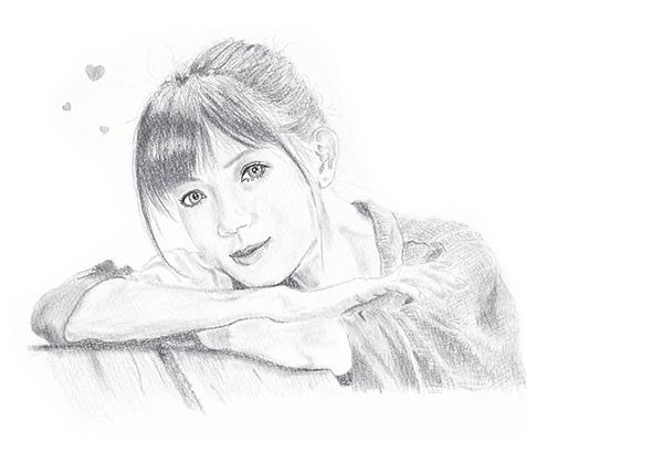 鉛筆画06