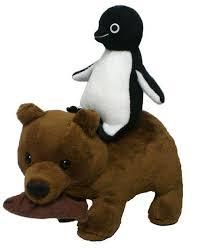 ペンギンと熊