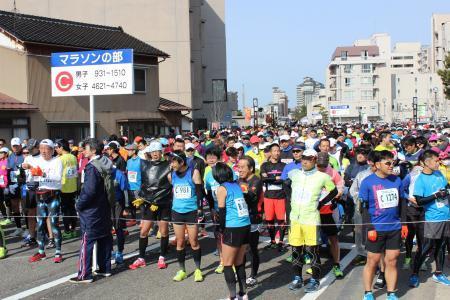 万葉の里マラソン2017-1