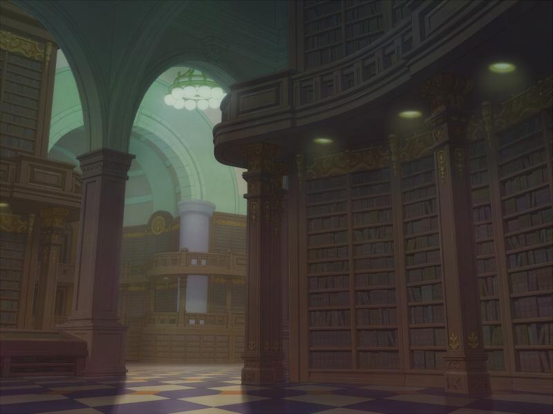 図書館_朝