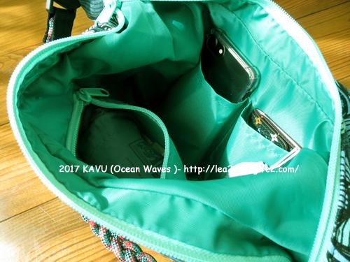 KAVU のバッグがお気に入り