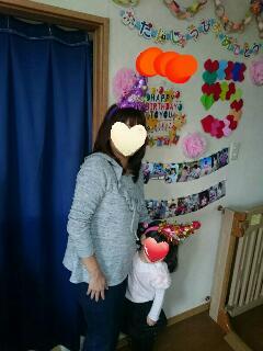 5歳の誕生日家族写真