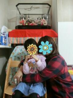 5歳の雛祭り