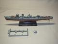 タカラ世界の艦船駆逐艦浜風組み立て1