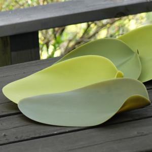 葉っぱのようなプレートのセット COVO Seasons