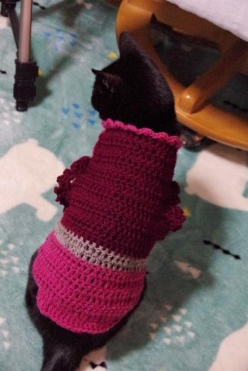 エリザベスびらびら付きセーター