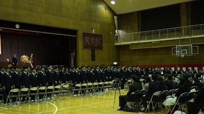 春日部共栄中学校卒業式05