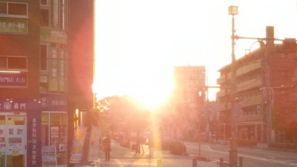 20170505 夕陽