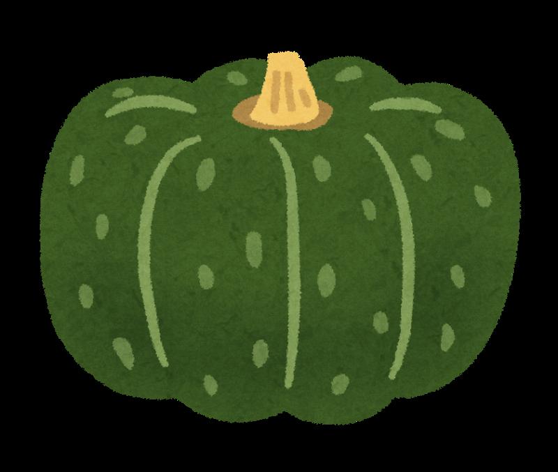 かぼちゃイラスト