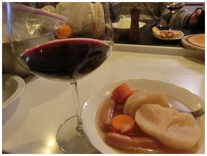 ポトフとワイン