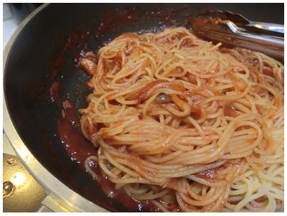 トマト煮4(パスタ)