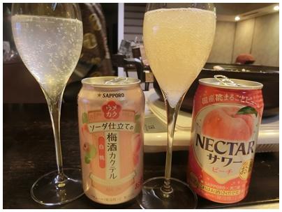 モモのお酒1