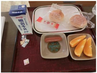 ばあちゃんの朝食