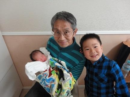 2番目の孫誕生
