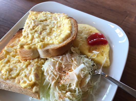 モーニング☆エッグトースト