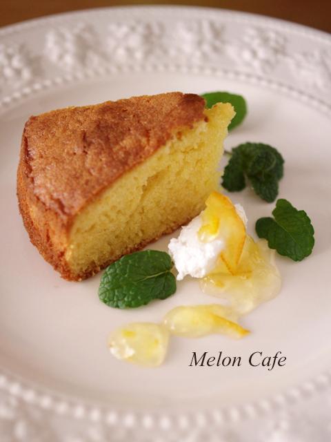 はちみつマーマレードの焼き菓子ケーキ