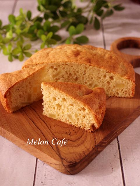 りんごのブレッド簡単ホットケーキミックスパン