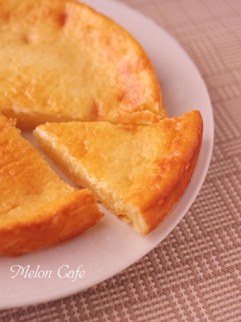 ホットケーキミックスとスライスチーズで簡単チーズケーキa