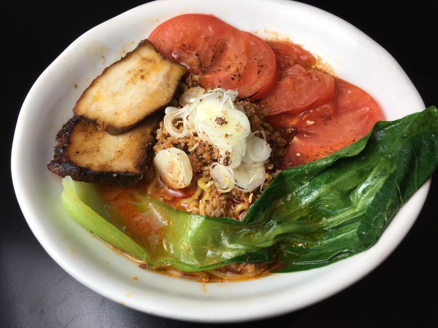 トマト担担麺