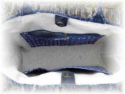 裂き織りトート10-5