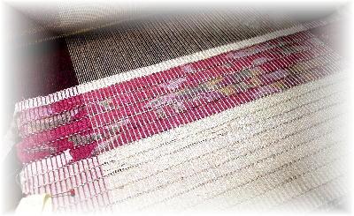 裂き織りマフラー15-4