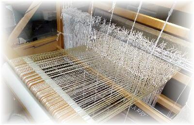 裂き織りマフラー17-1