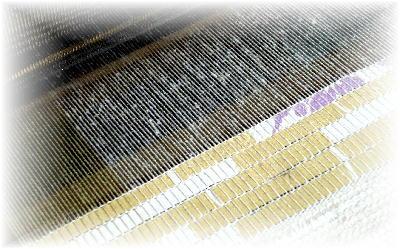 裂き織りマフラー17-2