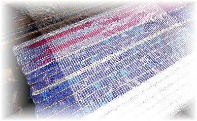裂き織りマフラー19-1