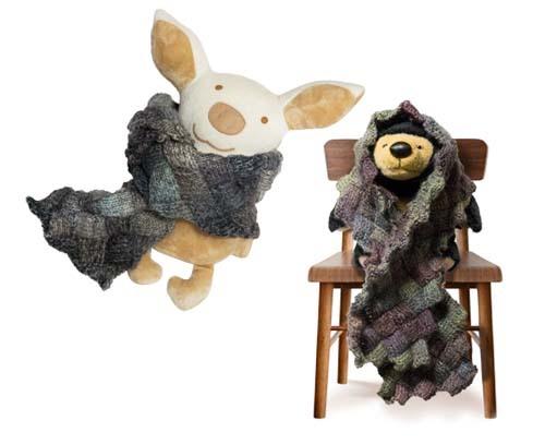 バスケット編み熊と豚