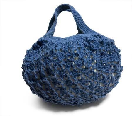 小花つなぎのバッグ
