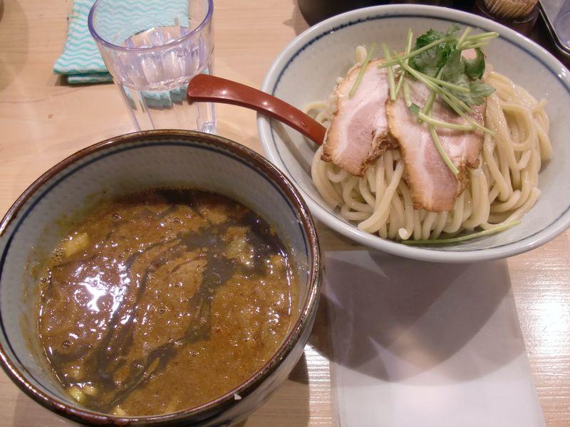 月と鼈@新橋・20170307・辛つけ麺