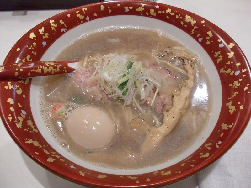 ふるめん@六本木一丁目・20170314・煮干し醤油