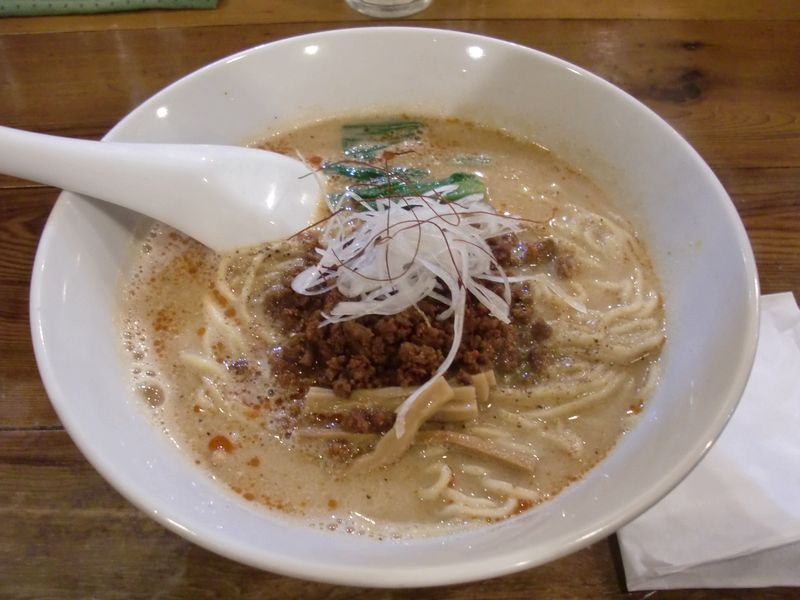穀雨@渋谷・20170418・担々麺