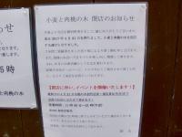 桃の木@新宿御苑・20170420・掲示