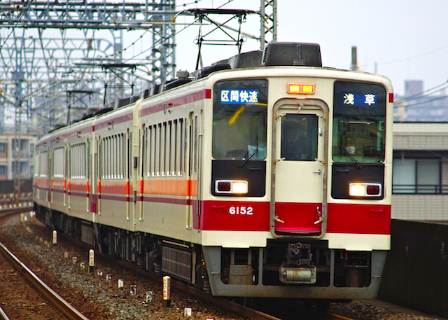 170408 Tobu 6050 for Asakusa