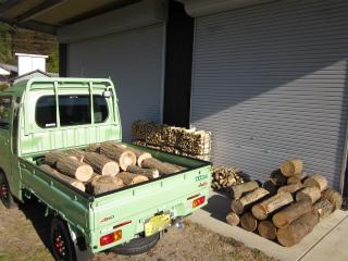 薪作り 1