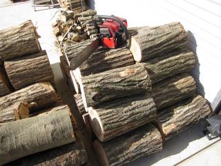 薪作り 3