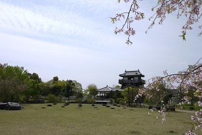 2017年春 お城遠景